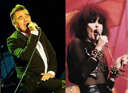 Morrissey And Siouxsie