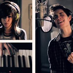 Christina Grimmie and Sam Tsui