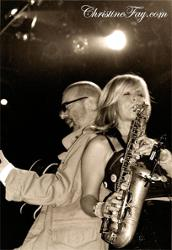 David Stewart and Candy Dulfer