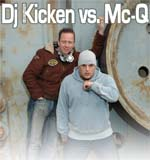 Dj Kicken Vs. Mc Q.