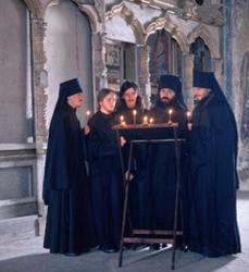 Хор братии Спасо-Преображенского Валаамского монастыря