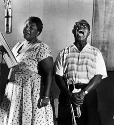 Louis Armstrong & Ella Fizgerald