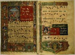 Gregorian Chanting Monks
