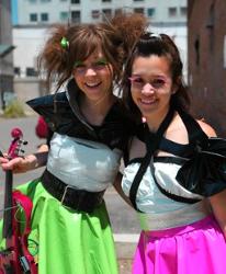 Lindsey Stirling & Megan Nicole
