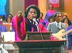 James Brown With Rev. James Cleveland Choir
