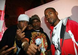 Kanye West, Nas, Rakim, Krs One