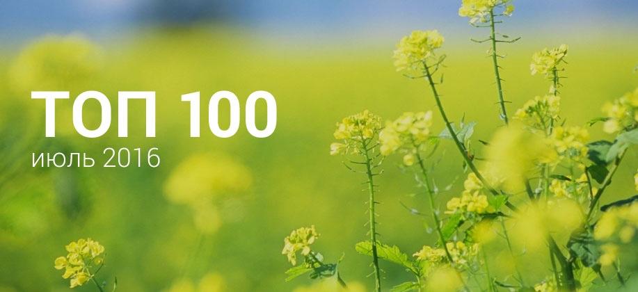 Топ 100 Zaycev.net июль 2016