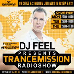 Обложка DJ Feel - TranceMission (11-10-2012)