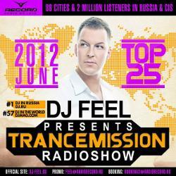 Обложка DJ Feel - TranceMission Top 25 Of June 2012