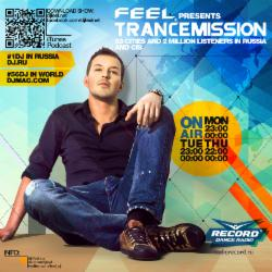 Обложка DJ Feel - TranceMission (06-02-2014)
