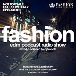 Обложка DJ Favorite - #FashionMusic 081 (07/11/2014)
