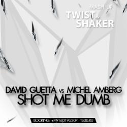 Обложка David Guetta vs Michel Amberg - Shot Me Dumb (Twist & Shaker Mashup) (НОВИНКА 2014)