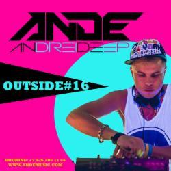 Обложка ANDE - OUTSIDE #16