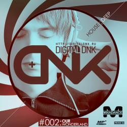 Обложка Digital DNK - Warning! G.M.O Mixes (#002 Our Wonderland)