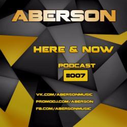 Обложка Aberson - Here & Now 007 (2014)