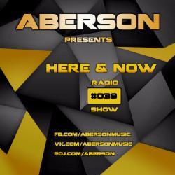 Обложка Aberson - Here & Now Radio Show 039 (2015)