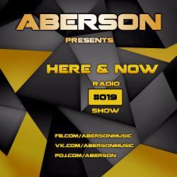 Обложка Aberson - Here & Now Radio Show 019 (2015)