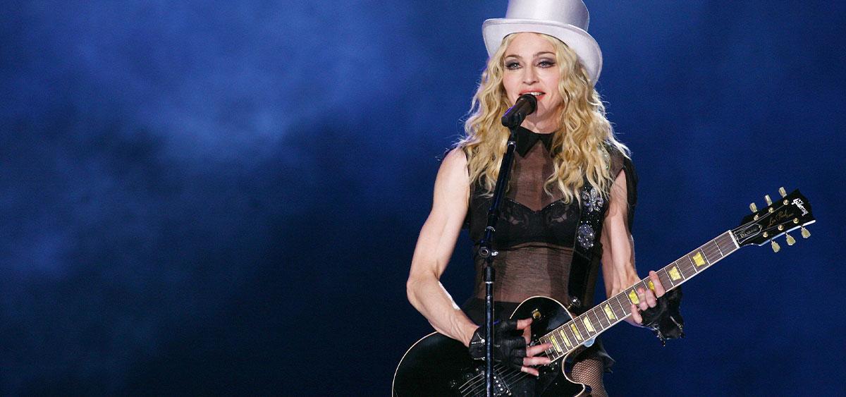 Мадонна появилась на MTV VMA в откровенном наряде