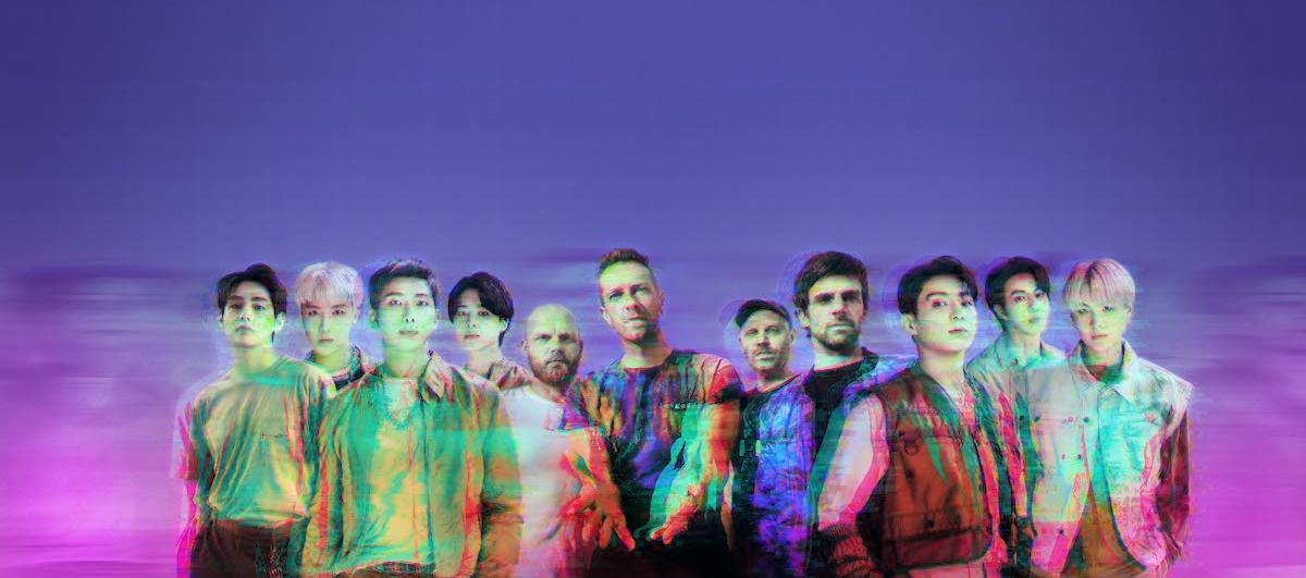 Coldplay записали трек с BTS!