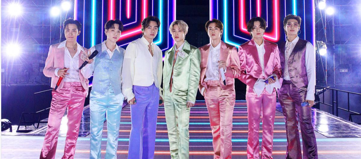 BTS анонсировали живые концерты