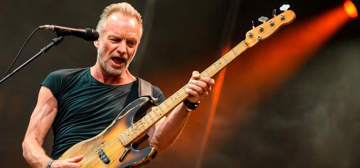 "Sting порадовал новым клипом ""Rushing Water"""