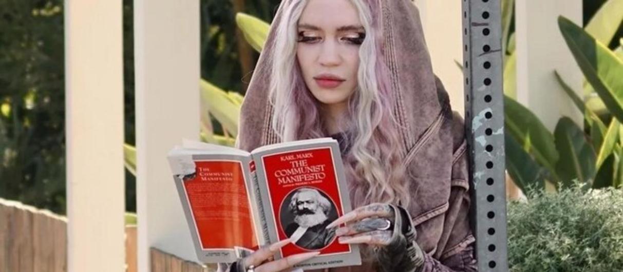 Коммунисты похвалили Граймс за чтение Карла Маркса