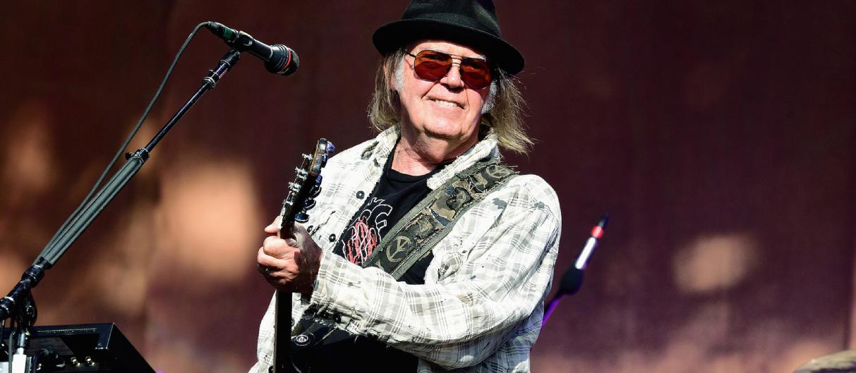 Нил Янг и Crazy Horse выпустят новый альбом