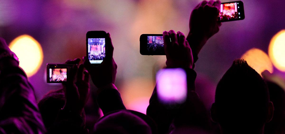Фото с концертов станут доказательством нарушений