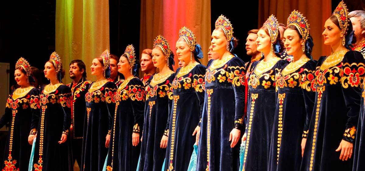 Русский народный хор порвал зал концертом в Сирии!