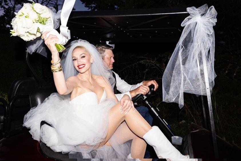 Гвен Стефани и Блейк Шелтон поженились