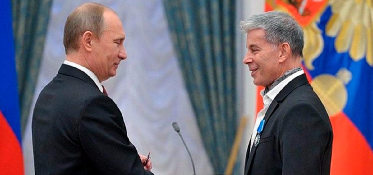 Владимир Путин поздравил Олега Газманова с Днем рождения