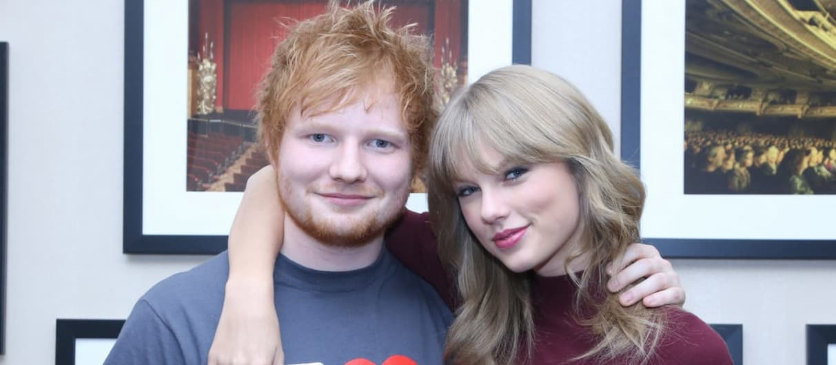 Эд Ширан дважды появится на новой пластинке Тейлор Свифт