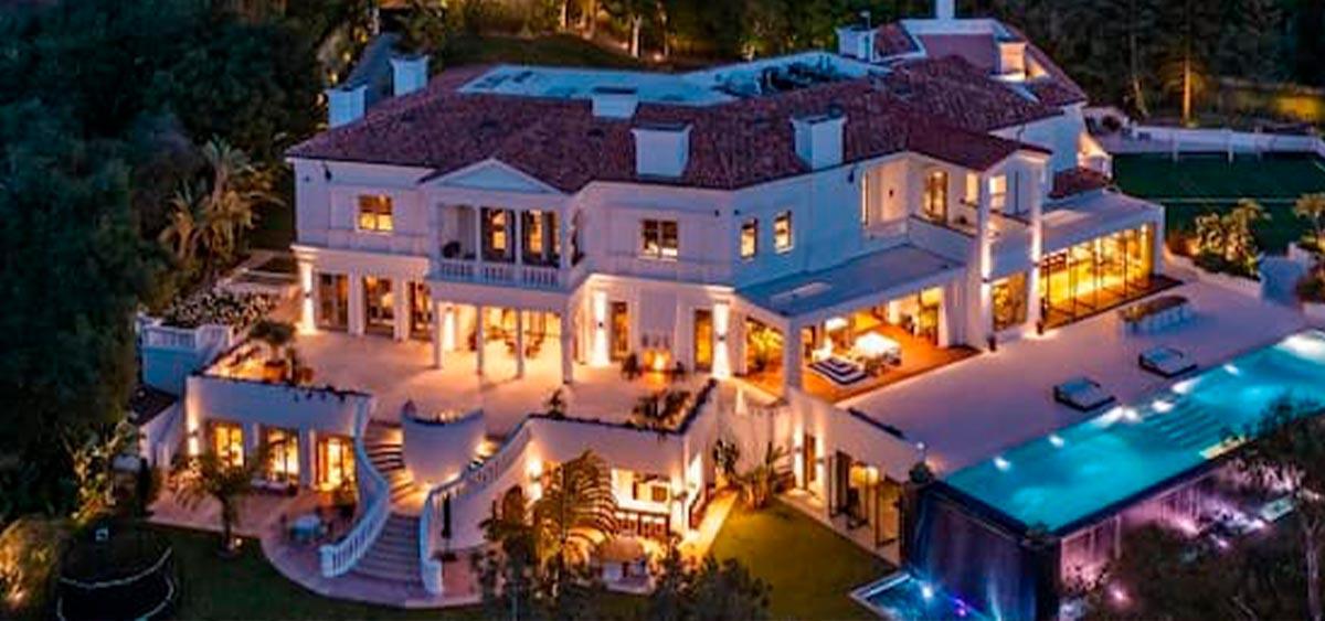 Певец The Weeknd купил особняк за 70 миллионов долларов. (ФОТО)