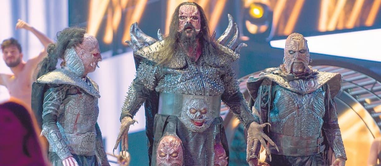 Группа Lordi выпустит семь альбомов сразу