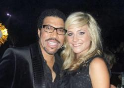 Lionel Richie With Pixie Lott