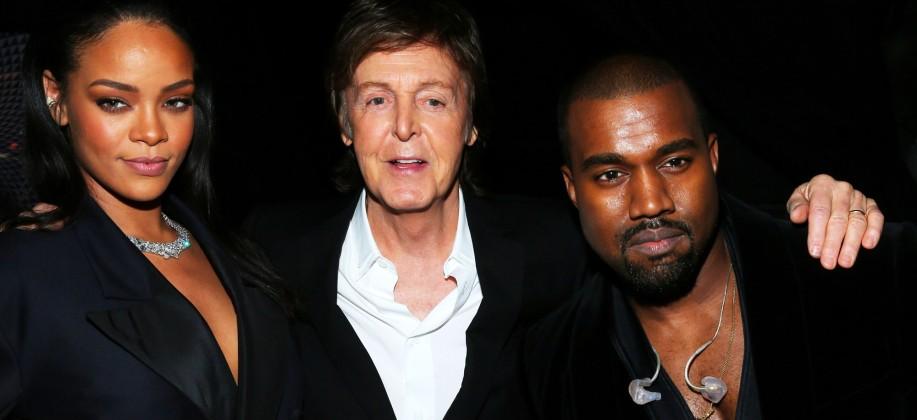 Rihanna & Kanye West & Paul McCartney