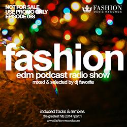 Обложка DJ Favorite - #FashionMusic 088 (26/12/2014)