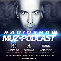 Обложка MUZ-PODCAST #8 - Radio Show (Paul McCartney, Kanye West, Rihanna, The Prodigy DJ MIX)