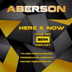 Обложка Aberson - Here & Now (Year Mix 2014) Part 1