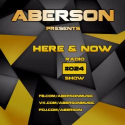 Обложка Aberson - Here & Now Radio Show 024 (2015)